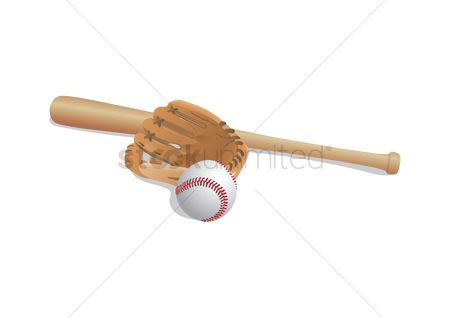 Baseball : Baseball equipments