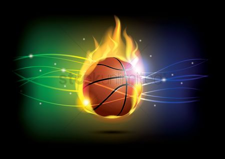 Activities : Basketball theme wallpaper
