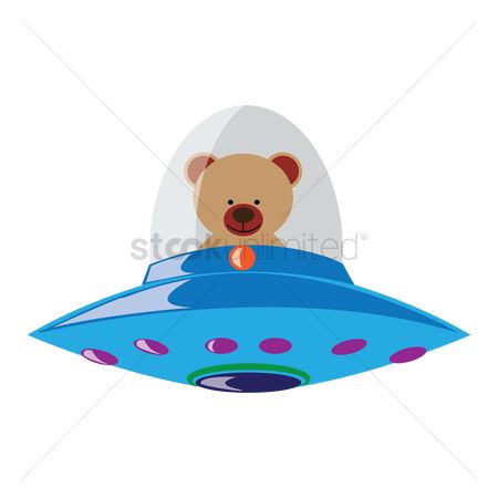 Spaceships : Bear in spaceship