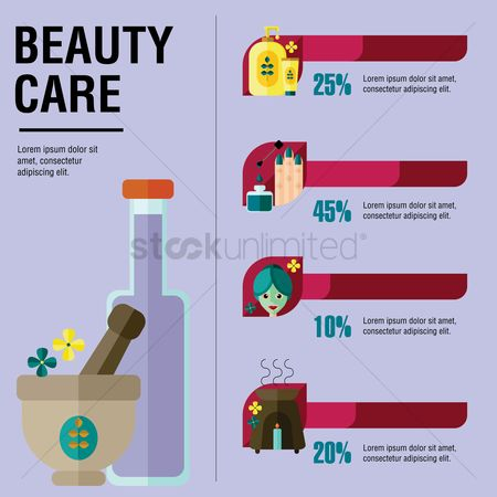 Health cares : Beauty care template