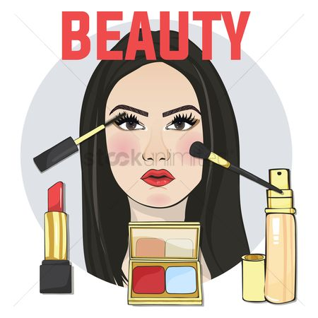 Cosmetic : Beauty concept