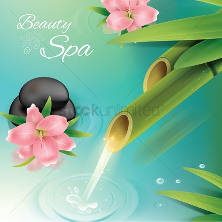 Aroma : Beauty spa background