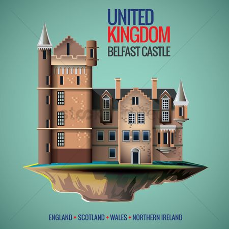 Monuments : Belfast castle