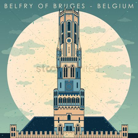 Architectures : Belfry of bruges