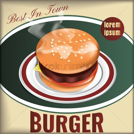 Eat : Best in town burger design