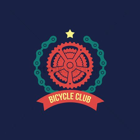 Cycle : Bicycle club label