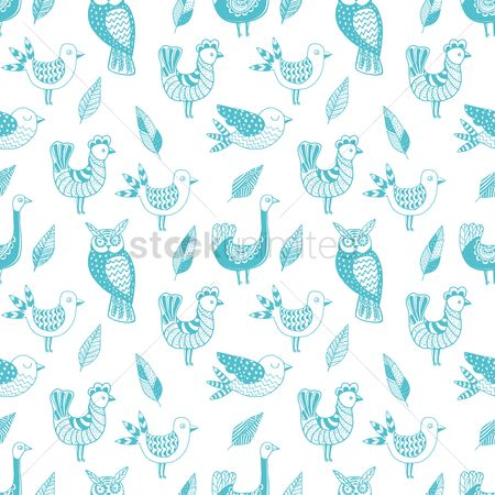 Backdrops : Birds background design