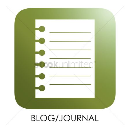 Journals : Blog icon
