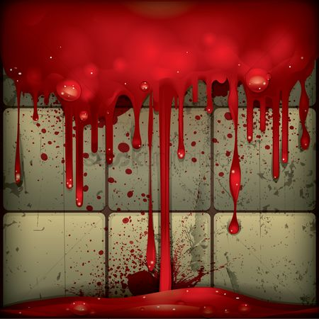 Dripping : Blood dripping