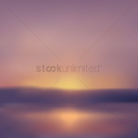 Ocean : Blurred background design