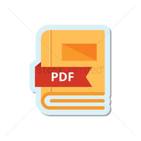 Readings : Book with pdf format icon