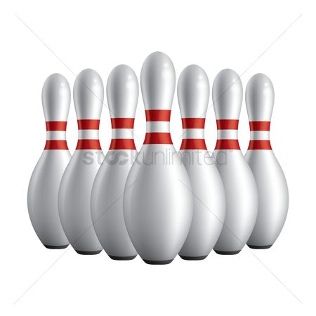 Recreation : Bowling pins