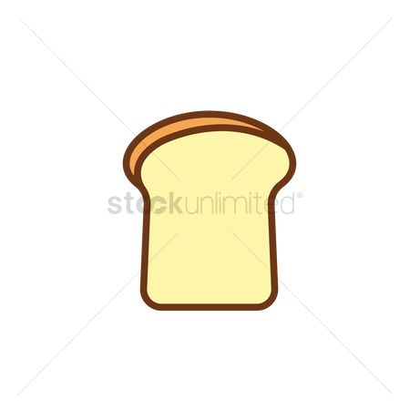 Crisp : Bread toast slice