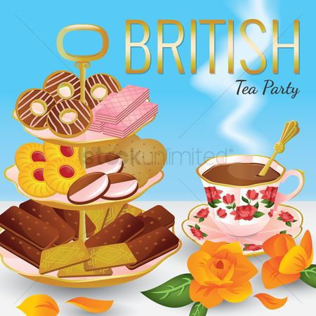 Teapot : British tea party