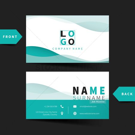 Copy space : Business card template