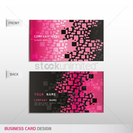 Address : Business card