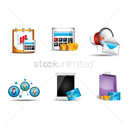 Retail : Business concept vectors