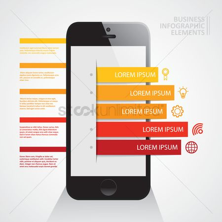 Setting : Business infographic
