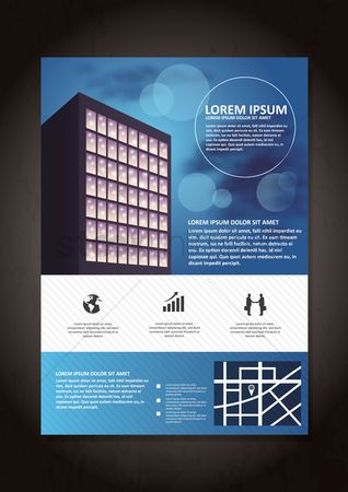 Buildings : Business poster