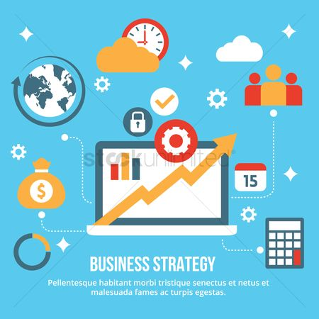 Products : Business strategy concept