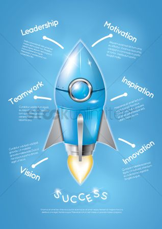 Copy space : Business strategy poster