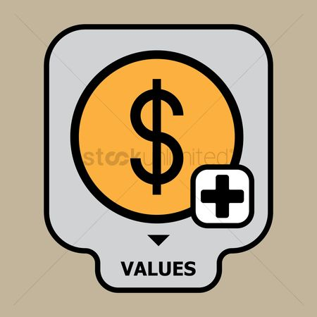 Additonal : Business values concept