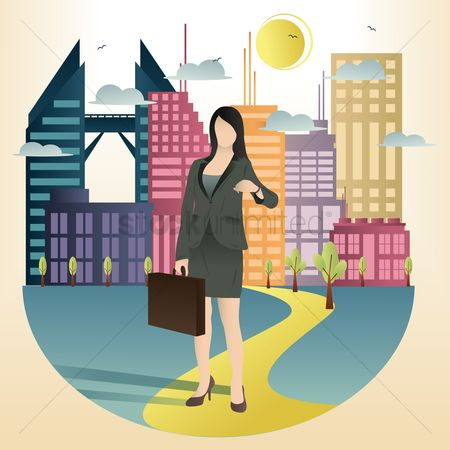 Briefcases : Businesswoman