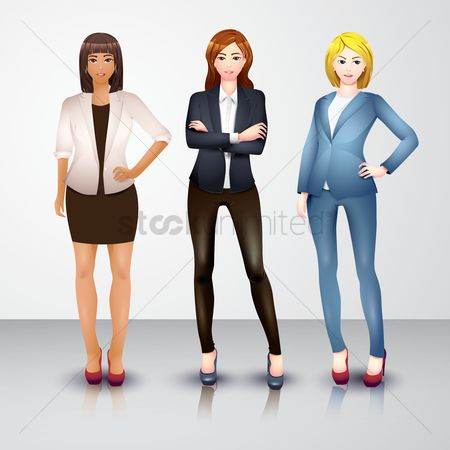 Character : Businesswomen