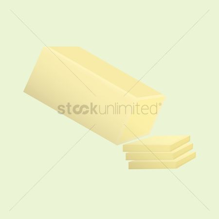Dairies : Butter slices