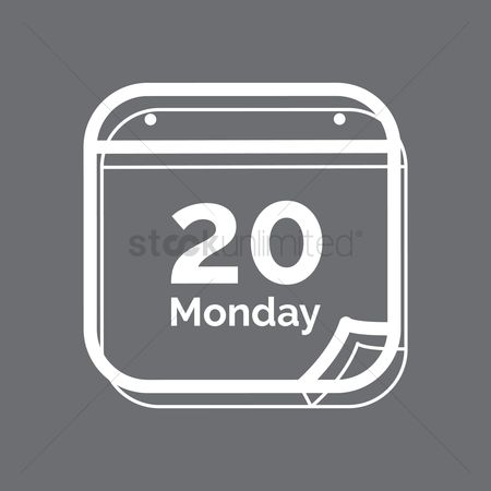 20 years : Calendar icon