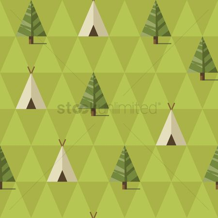 Tents : Camp background design