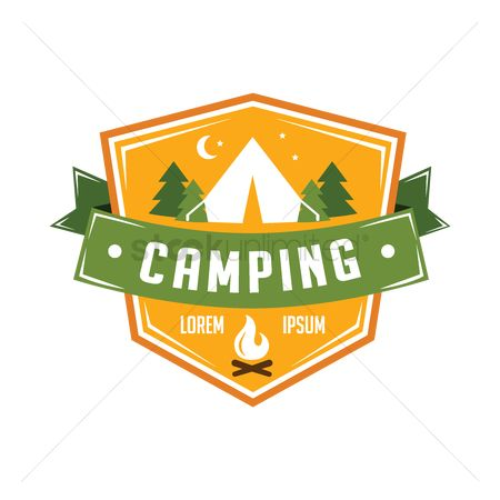 Camp : Camping label