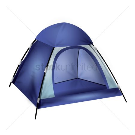 Hiking : Camping tent