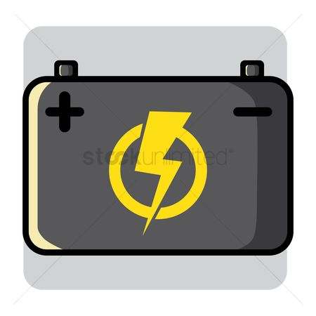 High voltage : Car battery