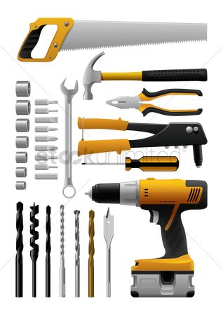 Hardwares : Carpentry tools