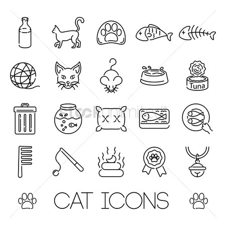 Basket ball : Cat icons
