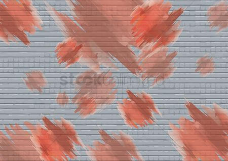 Brick : Cement brick wall background