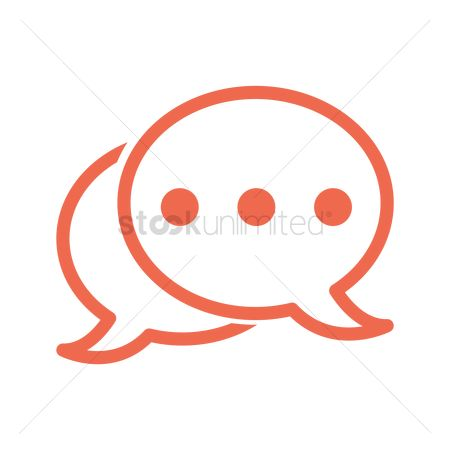 User interface : Chat bubbles