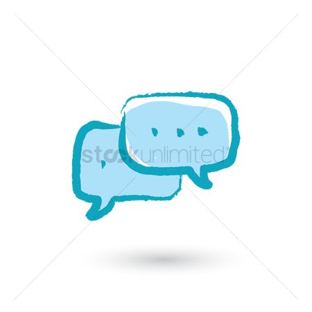Chat bubbles : Chat icon