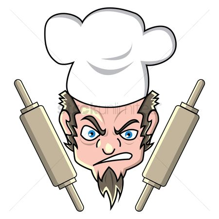 Challenges : Chef with rolling pins