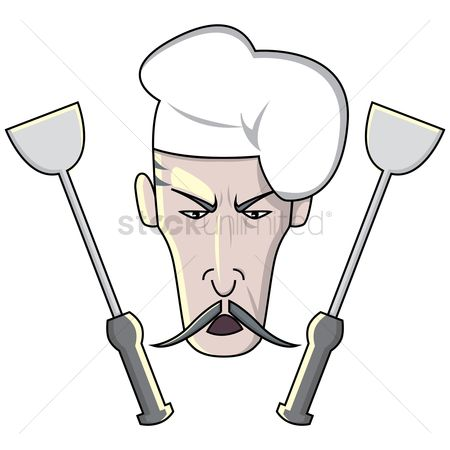 Challenges : Chef with spatulas
