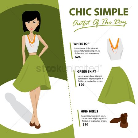 Skirt : Chic simple