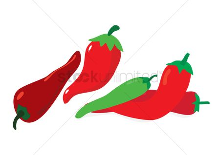 Agriculture : Chili peppers