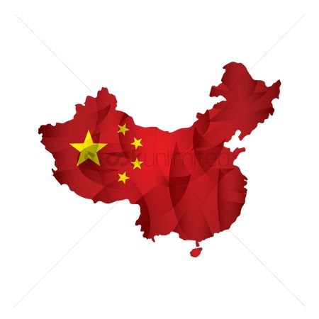 Patriotics : China flag map