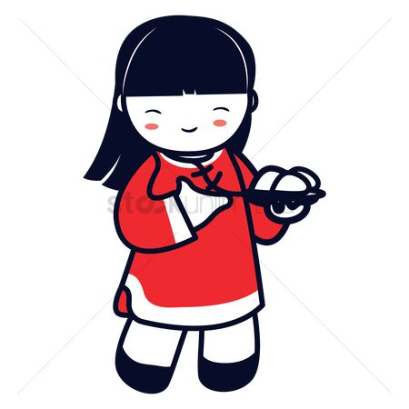 Free Chinese Girl Stock Vectors | StockUnlimited