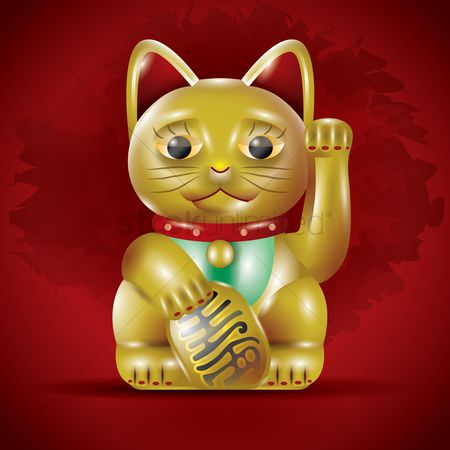 Traditions : Chinese lucky cat