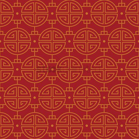 Asia : Chinese pattern background