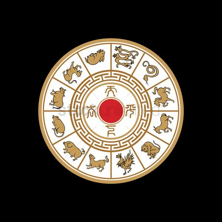 Free Chinese Astrology Stock Vectors Stockunlimited