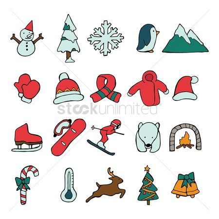Mountains : Christmas theme collection