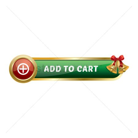 Jingle bells : Christmas themed add to cart button